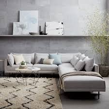 West Elm Pictures by Halsey 4 Piece Sectional West Elm Uk Office Design Yoyo