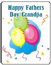 happy fathers day to grandpa free printable greeting cards templates