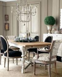 Size Of Chandelier For Dining Table Dining Table White Sheer Drum Crystal Chandelier Black Dining