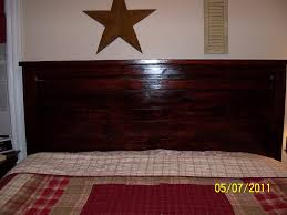 ana white reclaimed wood headboard cal king diy projects with