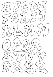 8 best images of cool bubble letter alphabet easy 3d graffiti