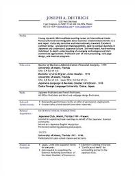 Odt Resume Template 28 Odt Resume Template 8 Free Openoffice Resume Templates