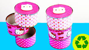 back to crafts hello kitty desk organizer youtube