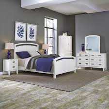 bedroom sets bedroom furniture the home depot newport 5 piece white queen bedroom set