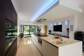 traditional kitchen open plan normabudden com modern traditional open plan kitchen lighting ideas 10