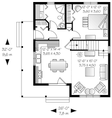 Standard Pacific Homes Floor Plans by Cottage Style House Plan 3 Beds 2 00 Baths 1226 Sq Ft Plan 23 824