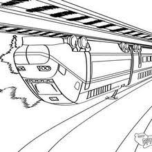 train coloring pages hellokids com