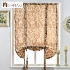 Short Curtains Aliexpress Com Buy Luxury Jacquard Short Curtains For Kitchen
