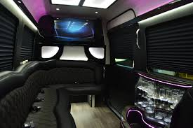 bentley limo interior first class customs inc vip full limo custom sprinter