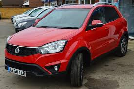 ssangyong korando used 2016 ssangyong korando elx for sale in cambridgeshire