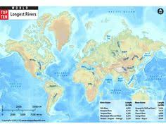 worlds rivers map buy world map with latitude and longitude lat map