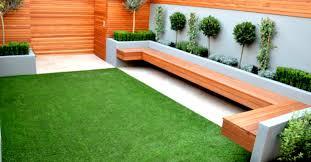 stunning modern patio birch granite paving garden wicker furniture