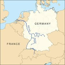 Maps Germany by Download Map Of Germany Showing Rivers Major Tourist Attractions