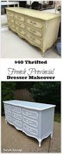 French Provincial Furniture by Diy Dresser Makeover The 40 Thrifted French Provincial Dresser