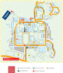 San Francisco Street Parking Map by Parking Saint Mary U0027s College