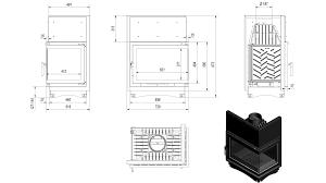 kratki stoves ireland kildare stoves oliwia 18kw right corner glass