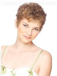 short curly permed hairstyles for women over 50 cream of the crop short blonde highlighted curly look might try