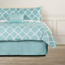 teal and grey bedding sets square black wooden nightstand white
