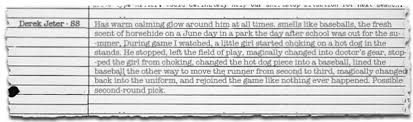 baseball scouting report template 5 lost scouting reports sbnation