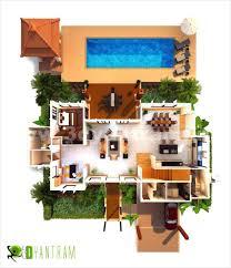 Free Online Floor Plans 3d House Floor Plan Vill Plan3d Free Trial Studio Apartment