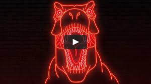 neon jurassic park on vimeo