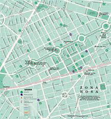 map of mixico zona rosa map mexico on line
