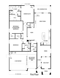 Home Floor Plan by Pulte Homes