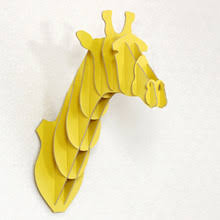 wooden giraffe ornaments promotion shop for promotional wooden