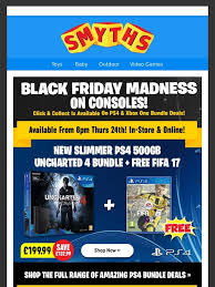 xbox one black friday price smyths toys hq amazing black friday ps4 and xbox one console