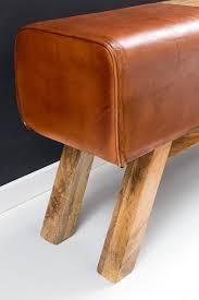 B O Rollcontainer Wohnling Design Turnbock Sitzbank Braun Aufbewahrungsfach 120 X 29
