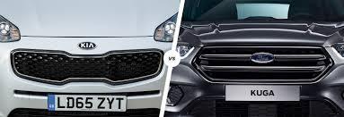 nissan qashqai or kia sportage kia sportage vs ford kuga suv comparison carwow