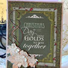 handmade vintage style christmas cards chrismast cards ideas