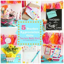 5 teacher gifts teachers really want