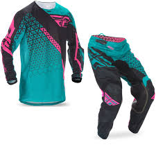 motocross jersey and pants fly racing 2017 kinetic mesh trifecta motocross jersey u0026 pants