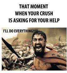 Cute Memes For Your Crush - cool cute memes for your crush that moment when your crush asks