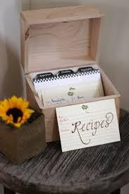 kitchen tea party invitation ideas recipe box for guests to add to decor pinterest recipe box