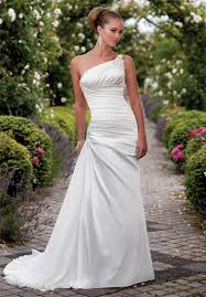 one shoulder wedding dresses 2011 one shoulder wedding dresses idea wedding plan ideas