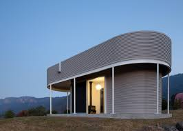 curbed archives tiny homes page tiny cabin compound adds corrugated metal reading pavilion