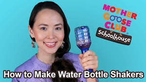 diy water bottle shaker kids craft with bloopers show me how by