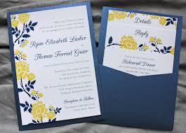 Royal Blue Wedding Invitations Excellent Royal Blue And Yellow Wedding Invitations 48 For Your