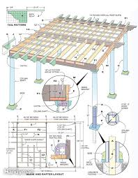 Attached Pergola Plans by How To Build Pergola Crafts Home