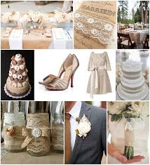 burlap wedding ideas burlap and lace wedding ideas