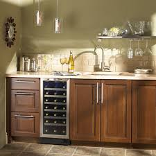 cabinet mount wine cooler amazon com danby dwc1534bls 3 7 cu ft 34 bottle silhouette wine