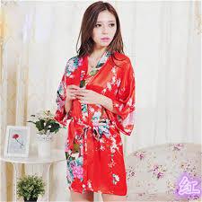 robe de chambre japonaise mukatu satin court japonais kimono robe de chambre japonais robe de