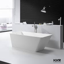 52 Bathtub Kkr Zero Water Absorption Two Person Freestanding Round Bath Tub