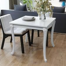 High Gloss White Laminate Flooring Vidaxl Dining Table 31 5