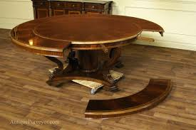 table round dining room table with leaf rustic compact the most