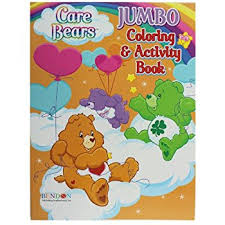 amazon care bears coloring u0026 activity book toys u0026 games
