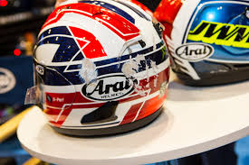 arai motocross helmet arai helmets 2016 american international motorcycle expo day