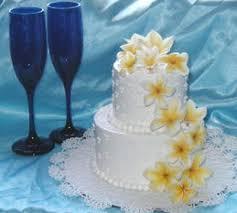 hawaiian themed wedding cakes flowers on wedding cakes2 jpg